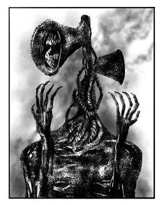 11 Best Siren Head Images Siren Creepy Images Creepy Art