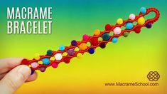 Bubbly Wave Bracelet (Teaser) Macrame School