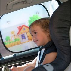 2 x Disney Frozen Princess Elsa Car Window Blinds Sun Shades UV Block Protection
