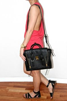 Bag Review: 3.1 Philip Lim Pashli Medium Satchel   The Fashion Monster