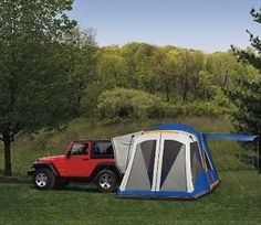 1940-2016 Jeep Vehicles Tent Package Outdoors Camping With Screen Room Mopar New #Mopar
