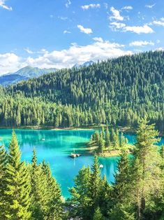 Summer in Flims - Laax, Switzerland, Caumasee, Cauma lake Places To Travel, Travel Destinations, Places To Visit, Switzerland Summer, Reisen In Europa, Austria Travel, Photos Voyages, Europe Travel Guide, Ultimate Travel