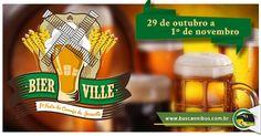 E para os amantes de uma boa cerveja, Segue a dica do buscaOnibus para curtir o final de Outubro: http://www.buscaonibus.com.br/eventos/joinville/bierville