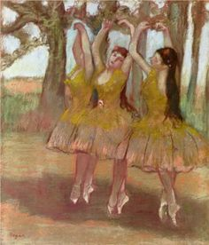 A Grecian Dance - Edgar Degas