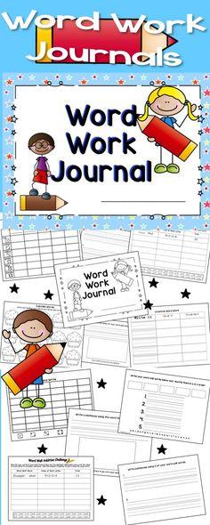 Word Work Journals
