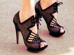 Nicholas Kirkwood mesh heels