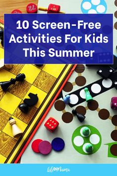 It may seem difficult to come up with ideas for kids' activities that don't involve electronics. But don't fret! We have a list of 10 fun, screen-free activities for your kids (indoors or outdoors) that caters to all ages. Perfect for summertime, and all year. We're sure you'll also be able to come up with a few of your own along the way! | #lifeasmama #screenfree #screenfreeactivities #kids #kidsactivities #momlife #summer Free Activities For Kids, Fun Crafts For Kids, Kids And Parenting, Parenting Hacks, Popsicle Stick Crafts, How To Make Cookies, Summer Kids, Early Learning