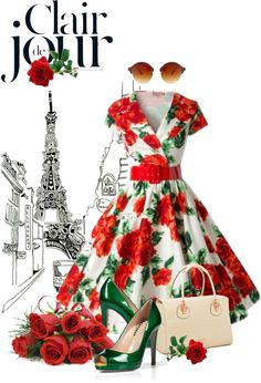"""Roses"" by ditald on Polyvore"