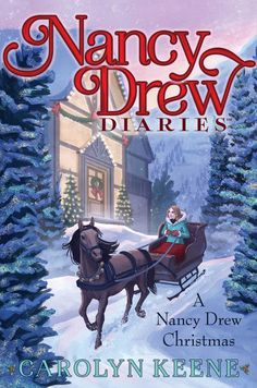 """Read """"A Nancy Drew Christmas"""" by Carolyn Keene available from Rakuten Kobo. Nancy finds herself a Christmas mystery in this super special eighteenth book of the Nancy Drew Diaries series, a fresh . Nancy Drew Diaries, Best Christmas Books, Nancy Drew Books, Midnight Rider, Nancy Drew Mysteries, Diary Book, Mystery Stories, Aladdin, Books To Read"""