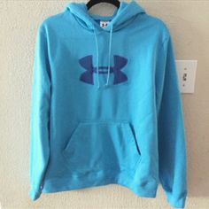 Blue under armour hoodie sweatshirt Like new under armour hoodie sweatshirt. Only worn a couple times. In great condition and very comfortable. Under Armour Tops Sweatshirts & Hoodies