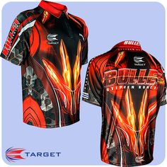 Stephen Bunting - Target Authentic Replica Dart Shirt - Cool Play - XS to 5XL - The Bullet - https://www.dartscorner.co.uk/product_info.php?products_id=19650