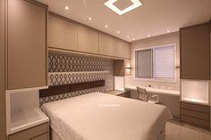 Luxury Bedroom Design, Home Room Design, Bed Design, Interior Design Living Room, House Design, Bedroom Built Ins, Sweet Home Design, Bedroom Cabinets, Cupboard Design