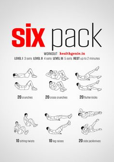 #SixPackAbs #Workout #absworkout #6packabs #abs #bodybuilding #musclebuilding #fitness #exercise