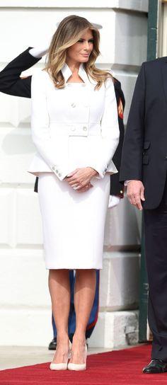 Melania Trump in Karl Lagerfeld