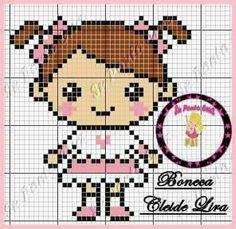 Small Cross Stitch, Cross Stitch For Kids, Cross Stitch Cards, Knitted Jackets Women, Stitch Doll, Plastic Canvas Crafts, Hama Beads, Doll Patterns, Pixel Art