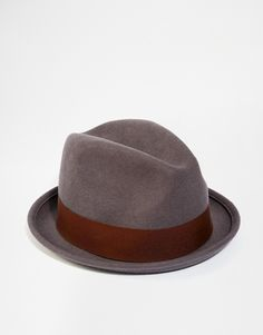 Brixton Gain Fedora - Grey