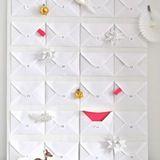 Envelope Advent Calendar, Sarah & Bendrix for Houzz.com