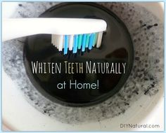 Learn how to whiten teeth naturally at home, with activated charcoal. There are definitely some do's and don'ts to the process, but when done right it really works!