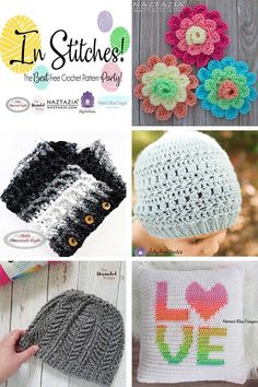 In Stitches - The Best Free Crochet Pattern Party #Crochet #linkup #party #freecrochetpattern #freepattern #yarn