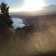 Taormina al tramonto