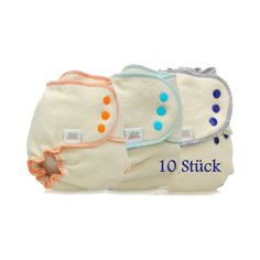 Bum Slender Hanf-Höschenwindel 10er-Set Druckknopf boy *could be good in size S for 'newborn' days euro 129,50 **may also work well as a night nappy later bc of hemp S - von Geburt bis ca. 9 kg L - 7 bis 18 kg XL - +16 kg