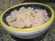Leftover Rice, Rice Pudding - made this tonight with left over rice from dinner,  YUM!
