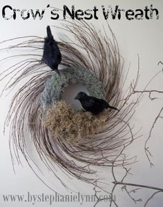 bird nest wreath - Bing Images