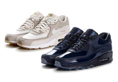 #sneakers #news  Designer Pedro Laurenco Teams Up With NikeLab Again for Two Premium Air Max 90s
