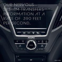 2015 Acura MDX radio controls interior close up