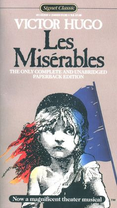 Les Miserables by Victor Hugo; It's 1400 pages. I hope I make it through all of them.