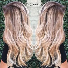 Light Brown Hair with Perfect Blonde Sombre with Loose Waves/Curls. Hair Day, New Hair, Lange Blonde, Hair Color And Cut, Dream Hair, Gorgeous Hair, Beautiful, Pretty Hairstyles, Hair Inspiration