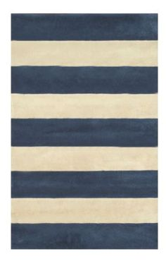 striped rug (variety of colors!) / via rugsusa.com