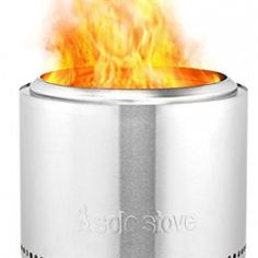 Solo Stove Bonfire - Patio Fire Pit with Unique Secondary Combustion and Wood Burning Stainless Steel Design. Great for Outdoor, Backyards, Pagodas, Decks Fire Pit Grill, Diy Fire Pit, Fire Pit Backyard, Backyard Patio, Wood Burning Camp Stove, Wood Burning Fire Pit, Fireplace Supplies, Portable Fire Pits, Cool Fire Pits
