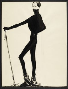 A winter ski-inspired sketch from Ralph Lauren Collection