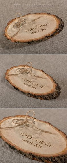 Exclusive Amber Wood Ring Box Perfect For Engagement//Weeding//Gift Jewelry Box