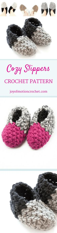 The Cozy Slippers - unisex slippers crochet pattern. Slippers crochet pattern for men & women. Skille level easy. You will need wool yarn & crochet hook. Perfect gift & will keep your feet warm all winter DIY. Slippers crochet pattern for her | woman's crochet pattern | men's crochet pattern | adult crochet pattern | quick crochet pattern | 1 hour crochet pattern. Click to purchase or repin to save it forever. via @http://pinterest.com/joyofmotion/