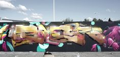 ZOER CSX http://www.widewalls.ch/artist/zoer/ #streetart #graffiti