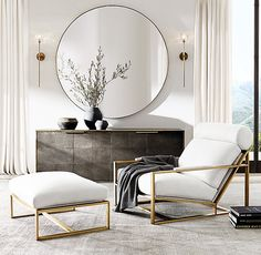 Begin using these interior decor ideas to enhance your home and give it new life. Home decorating is fun and will transform your house into a home whenever you understand how to do it right. Living Room Mirrors, Home Living Room, Living Room Designs, Contemporary Living Room Decor Ideas, Scandinavian Interior Living Room, Living Room Modern, Home Design, Home Interior Design, Simple Interior