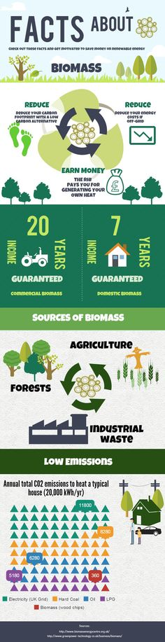 Our infographic on #biomass. What's wonderful about biomass!