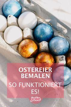Ostereier bemalen gehört zu Ostern wie der Osterhase. Hier gibt es tolle Ideen und Motive sowie Step-by-Step-Anleitungen zum Bemalen von Eiern. Easter Bunny, Diy Decoration, Creative Ideas, Amazing, Tutorials