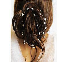 Wedding Headband crochet Hair band Accessories bridal by selenayy
