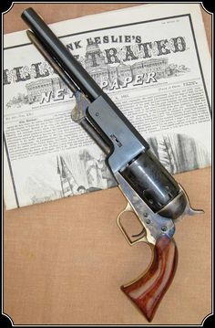 Colt Walker; to fire a  Walker Colt and other black powder weapons.