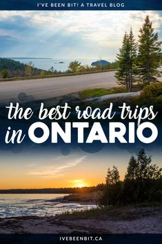 The open road is calling your name! Check out these incredible Ontario road trips so you can explore more of what the province has to offer. Road Trip Essentials, Road Trip Hacks, Quebec, Costa Rica, Cool Places To Visit, Places To Go, Vancouver, Columbia, Manitoulin Island