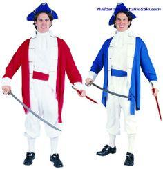 COLONIAL CAPTAIN ADULT COSTUME #patrioticcostumes #patriotic Patriotic Costumes, Adult Costumes, Colonial, Dresses, Fashion, Vestidos, Moda, Fashion Styles, Dress