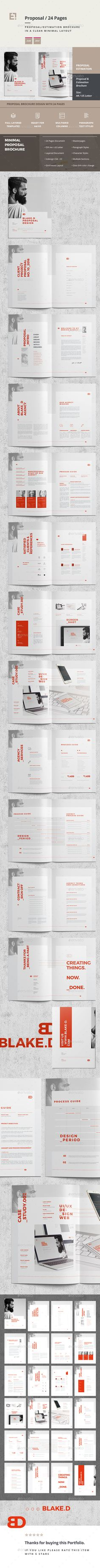 #Proposal - Proposals & #Invoices #Stationery Download here: https://graphicriver.net/item/proposal/19178760?ref=alena994