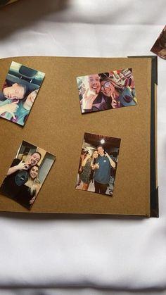 Diy Birthday Card For Boyfriend, Polaroid Wall, Mini Album Tutorial, Instant Camera, Diy Photo, Photo Book, Diy And Crafts, Creative, Books