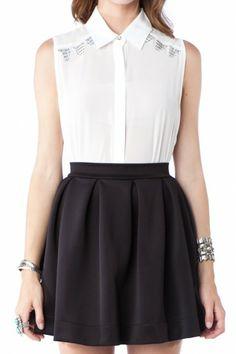 Letta Skirt in Black