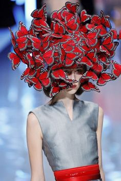Now just imagine what'd be like to have all those (real) butterflies swarming your face and landing all over you.