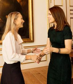 Crown Princess Mary hosted the Mary Foundation's Christmas reception 2015
