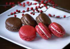 French Wedding Macarons done by Brooklyn Cake